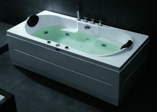 Showroombadkamersnl 2 persoons whirlpool plash design for Whirlpool elektroger te